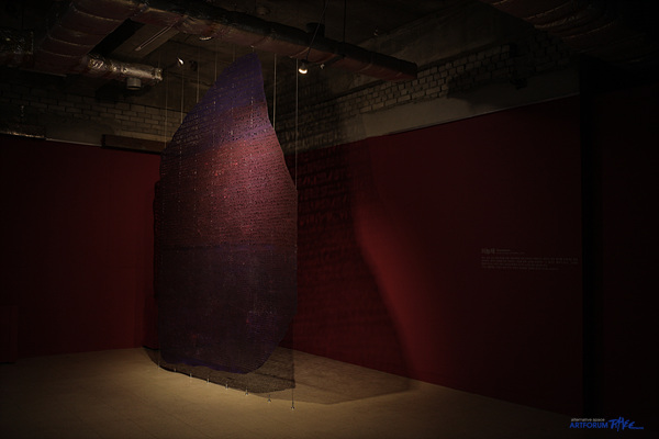 12. 이능재_Rosettastone, Mixed on media, 227x305cm. 2013