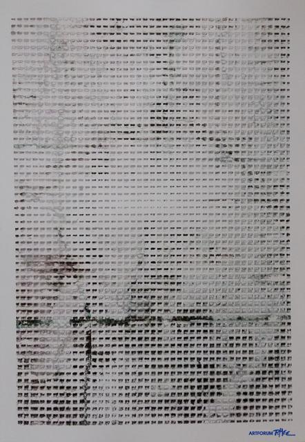 세바스챤 루드비히(Sebastian Ludwig)_o.T., Acryl, Aceton on chromoluxpaper,