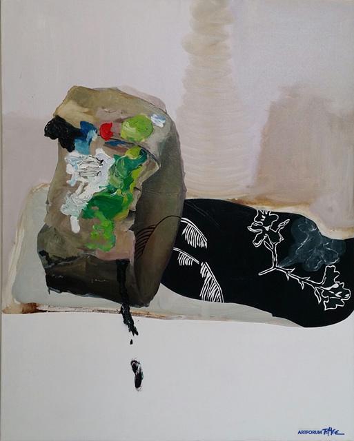 우도 져스크 교수(Prof. Udo Dziersk)_Eifelschatten, 캔버스위에 유화, 100x 80cm, 2015