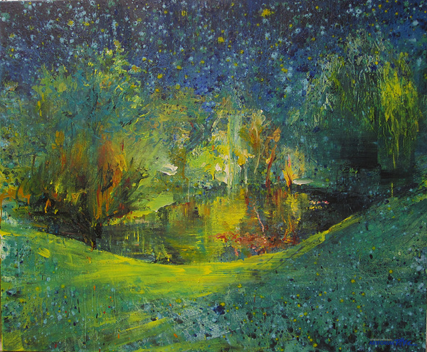 이광(Lee Kwang)_Fischtal, 퓌시탈 캔버스에 템페라와 유화, 120x100 cm, 2012